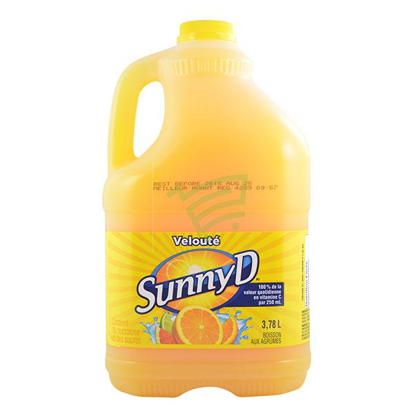 Indian grocery online - Sunny D Orange 3.78L - Cartly