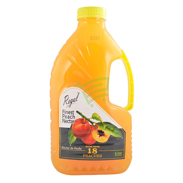 Indian grocery online - Regal Peach Nectar 2L - Cartly