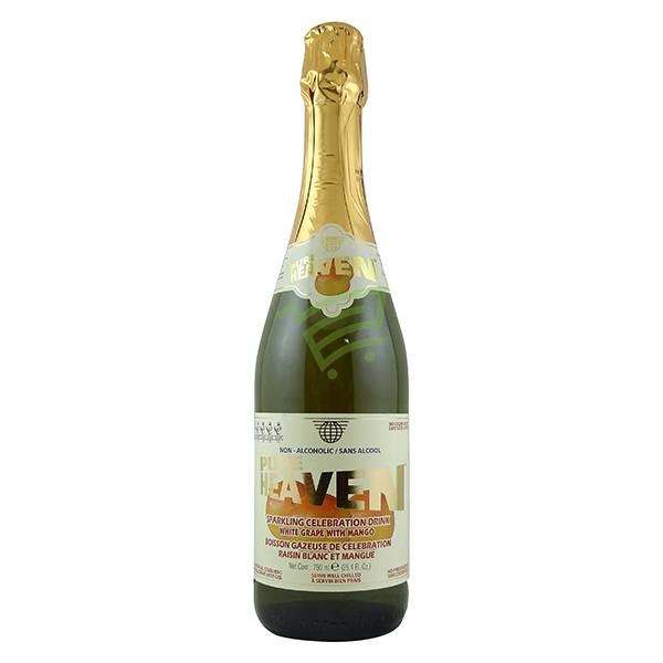 Indian grocery online - Pure Heaven White Grape with Mango Sparkling Drink 750ml - Cartly