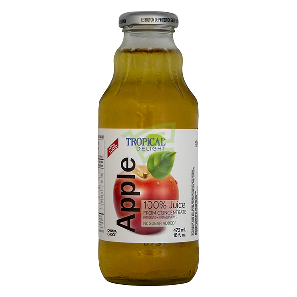 Indian grocery online - Tropical Apple Juice 473Ml - Cartly
