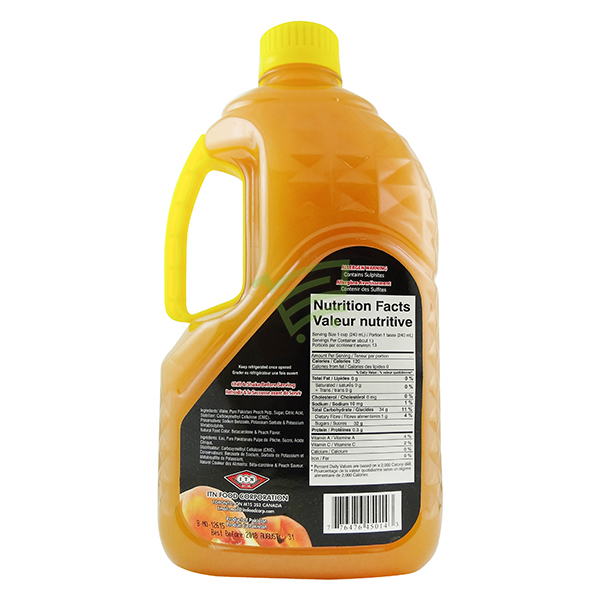 Indian grocery online - ITN Peach Juice 3l - Cartly