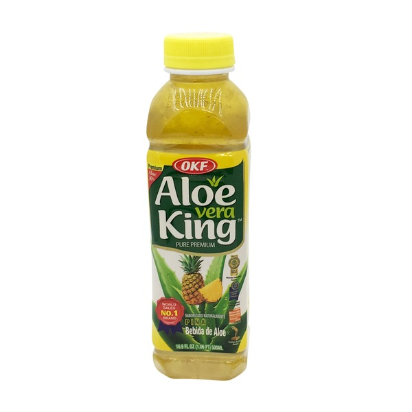 Indian grocery online - OKF Aloe Vera King Pineapple 500ml - Cartly