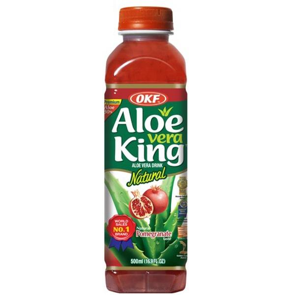 Indian grocery online - OKF Aloe Vera King Pomegranate 500ml - Cartly