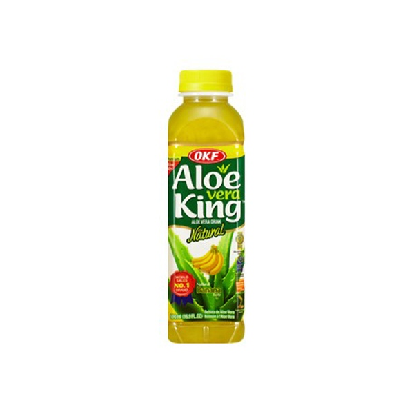 Indian grocery online - OKF Aloe Vera King Banana 500ml - Cartly