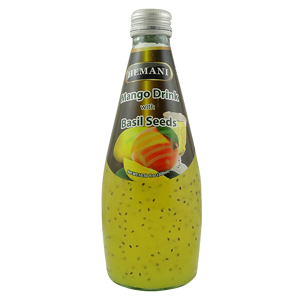 Indian grocery online - Himani Mango Drink with Basil Seeds 300ml - Cartly