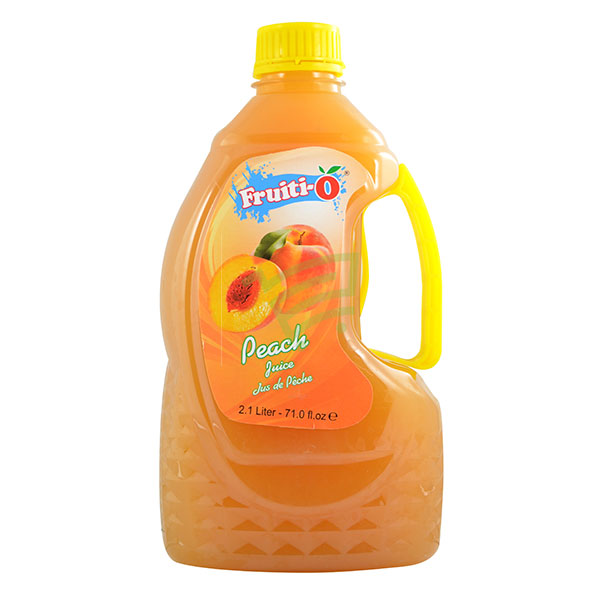 Indian grocery online - Fruiti-o Peach Juice 2.1L - Cartly