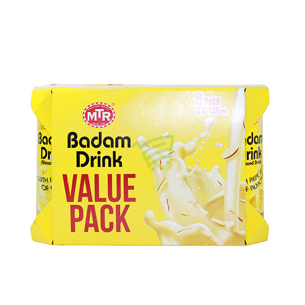 Indian grocery online - MTR Badam Drink Value Pack  - Cartly