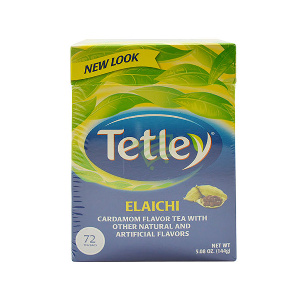 Indian grocery online - Tetley Elaichi Tea 72 Bags / 144G  - Cartly