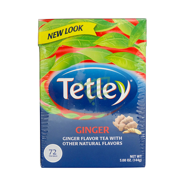 Indian grocery online - Tetley Ginger Flavour 72 Tbags  - Cartly