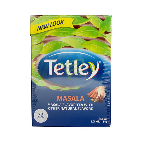 Indian grocery online - Tetley Masala Flavour 72 Tbags  - Cartly