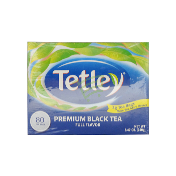 Indian grocery online - Tetley Premium Black Tea 80 Bag - Cartly
