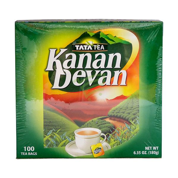 Indian grocery online - Tata Tea Kanan Devan 100 Bags - Cartly