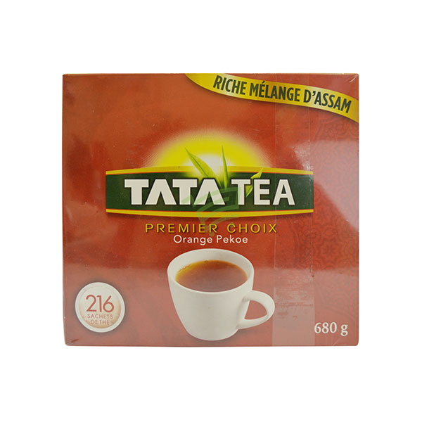 Indian grocery online - Tata Tea 216 Sachets / 680G - Cartly