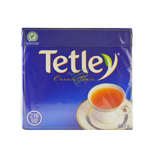 Indian grocery online - Tetley Tea 216 Bags / 681G  - Cartly