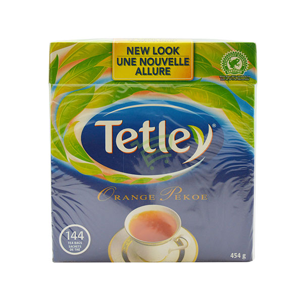 Indian grocery online - Tetley Tea 144 Bags / 454G  - Cartly