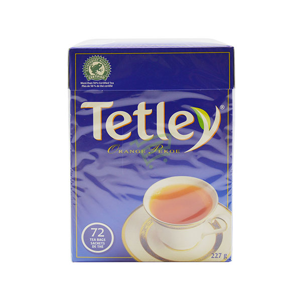 Indian grocery online - Tetley Tea 72 Bags / 227G  - Cartly