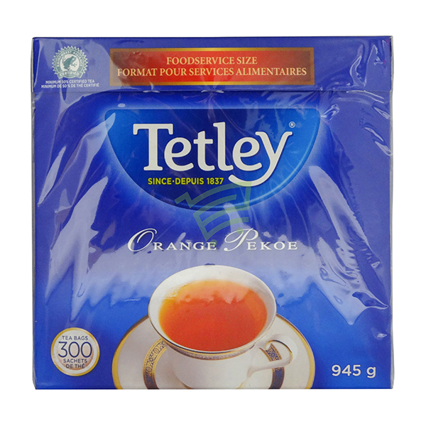 Indian grocery online - Tetley Orange Pekoe Tea 300 Bag - Cartly