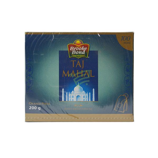 Indian grocery online - Taj Mahal Tea 100 Bags / 200G  - Cartly