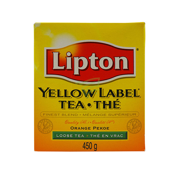 Indian grocery online - Lipton Yellow Label Tea 450G  - Cartly