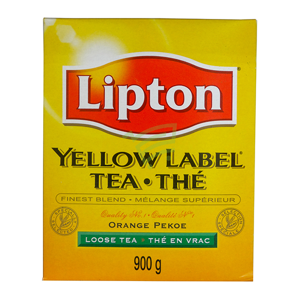 Indian grocery online - Lipton Yellow Label Tea Orange 900G - Cartly