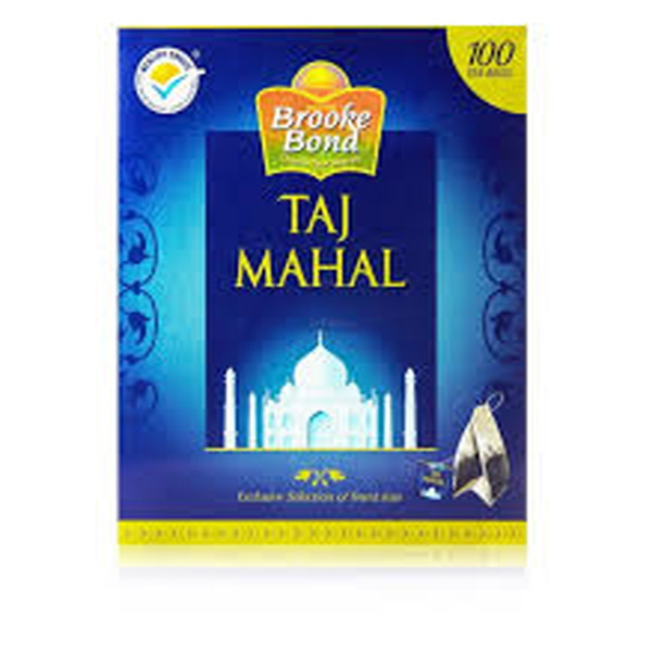 Indian grocery online - Brooke bond taj mahal 100 tea bags - Cartly
