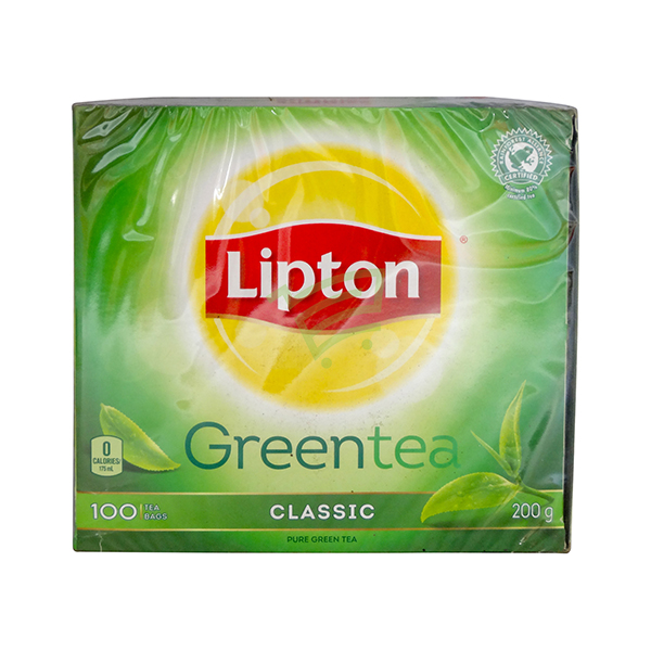 Indian grocery online - Lipton Green Tea 100 Bags - Cartly