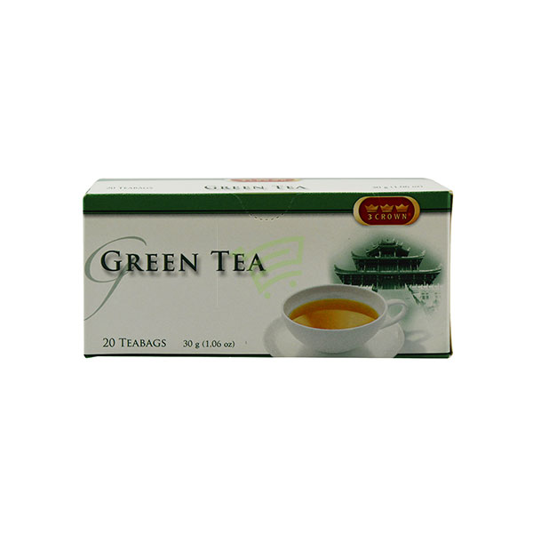 Indian grocery online - Green Tea 20 Bags/30G  - Cartly