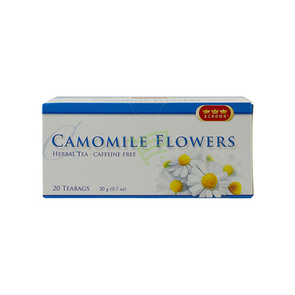 Indian grocery online - Camomile Flowers Herbal Tea 20 Bags/20G - Cartly
