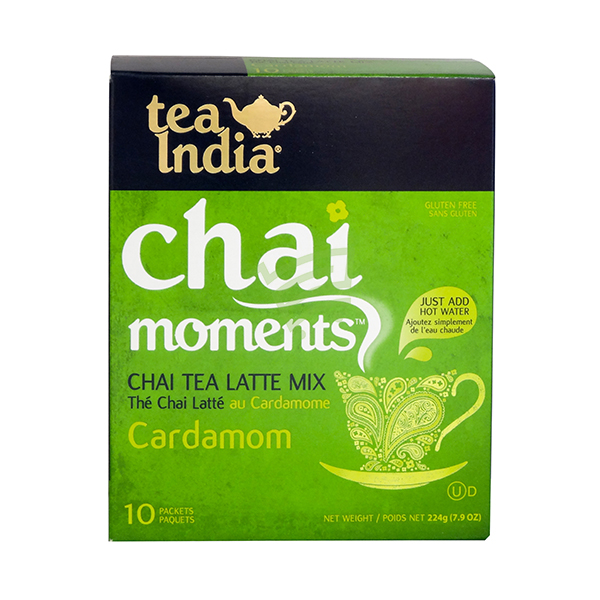 Indian grocery online - Tea India Cardmom Tea Mix 10x22.4G - Cartly