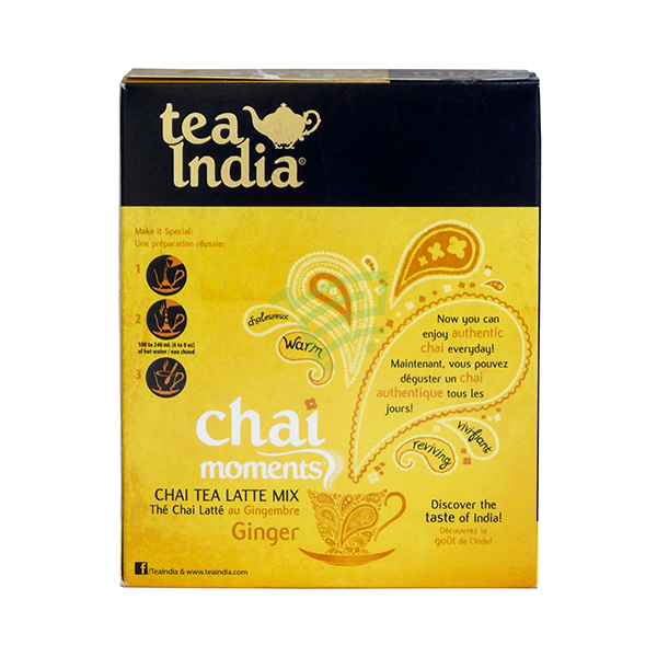Indian grocery online - Tea India Ginger Mix 10x22.4G - Cartly