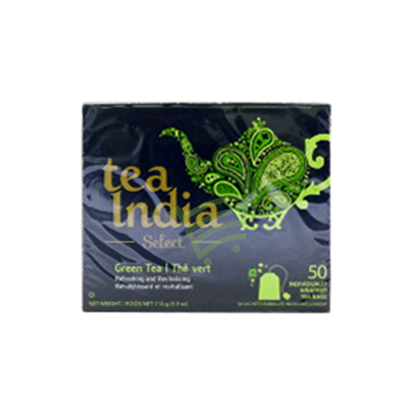 Indian grocery online - Tea India GreenT 50/pk - Cartly
