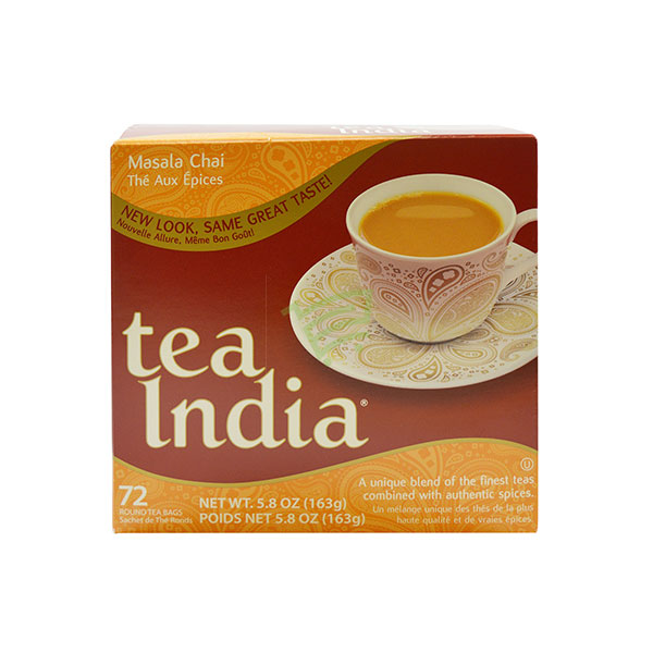 Indian grocery online - Tea India 72Bags 163G - Cartly