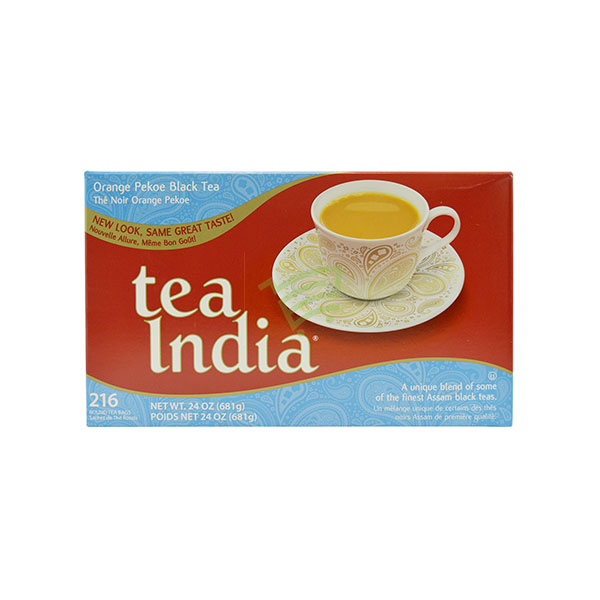 Indian grocery online - Tea India 216 Bags/681Gtea India Strong Brew 216Tb - Cartly