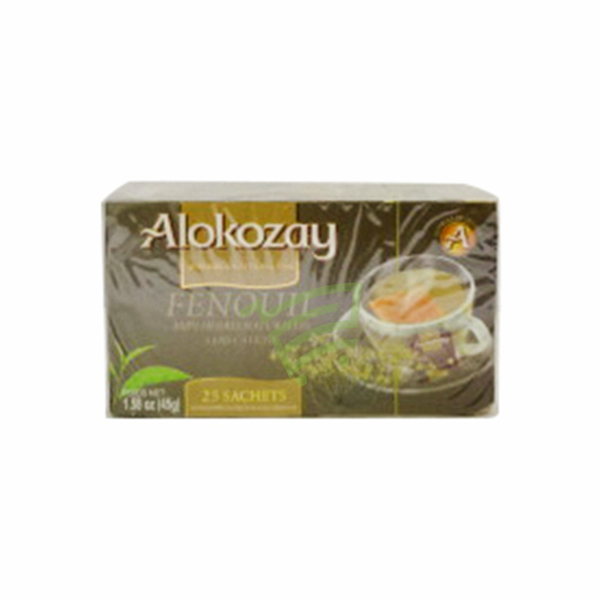 Indian grocery online - Alokozay fennel tea 45g - Cartly