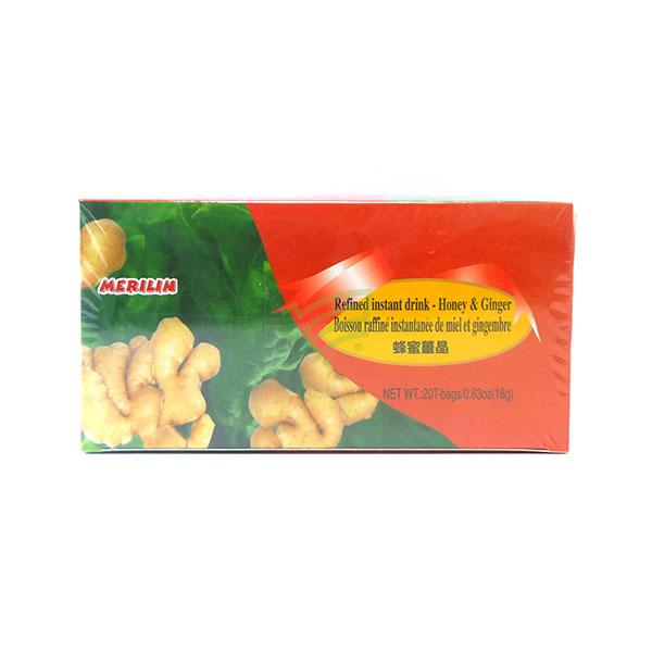 Indian grocery online - Merilin Honey & Ginger Tea 20 Bags/18G - Cartly