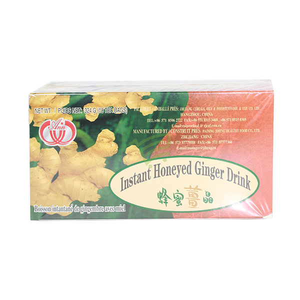 Indian grocery online - Instant Honeyed Ginger Tea 18 Bags/324G - Cartly