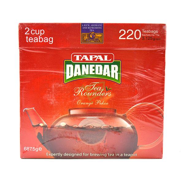 Indian grocery online - Tapal Danedar Tea 220 Bags/687.5G - Cartly