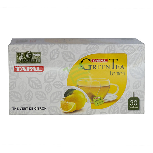 Indian grocery online - Tapal Lemon Green Tea 30 bags - Cartly