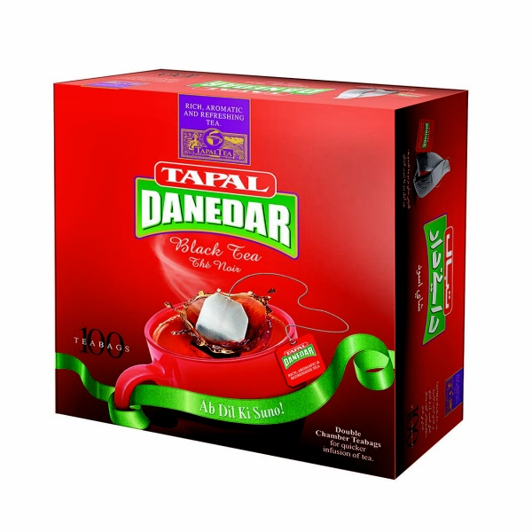 Indian grocery online - Tapal Danedar black tea 100bags - Cartly