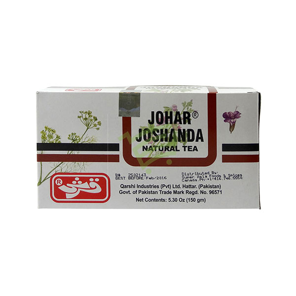Indian grocery online - Johar Joshanda Natural Tea 31 Pk - Cartly