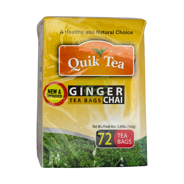 Indian grocery online - Quick Tea Ginger 72Bags - Cartly