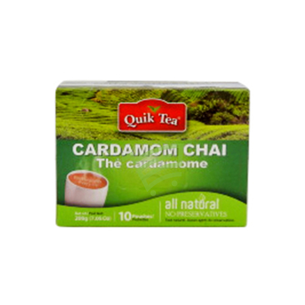 Indian grocery online - QuickT Cardam.Chai200g - Cartly