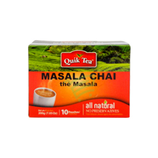 Indian grocery online - QuickT MasalaChai200g - Cartly