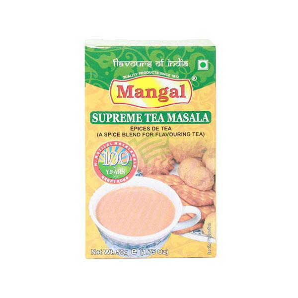 Indian grocery online - Mangal Supreme Tea Masala 50G - Cartly