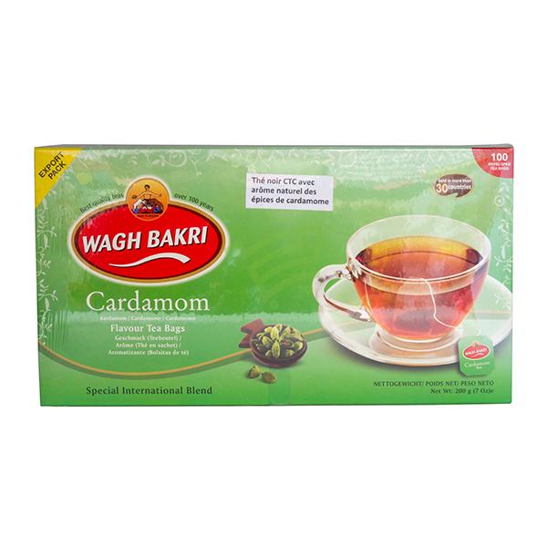 Indian grocery online - Wagh Bakri Cardamom Tea 100 Bags - Cartly