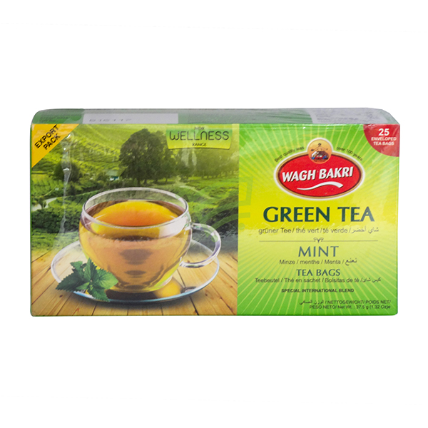 Indian grocery online - Wagh Bakri Green Tea 25 Bags - Cartly