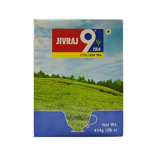 Indian grocery online - Jivraj 9 Ctc Leaf Tea 454G - Cartly