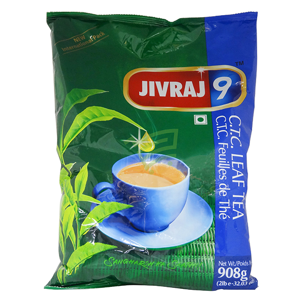 Indian grocery online - Jivraj CTC Leaf Tea 908G - Cartly