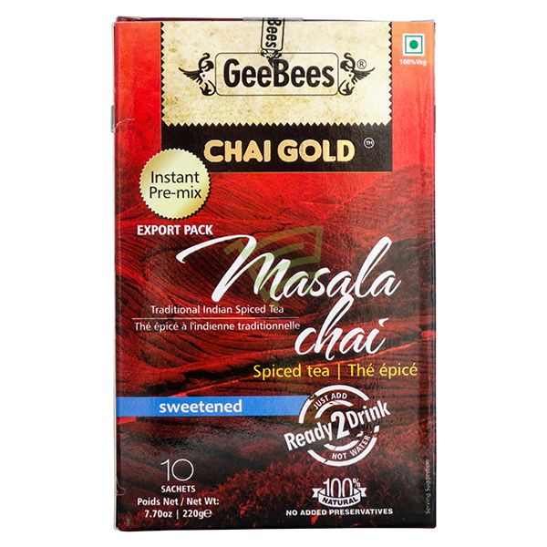 Indian grocery online - Chai Gold Masala Tea 220G - Cartly