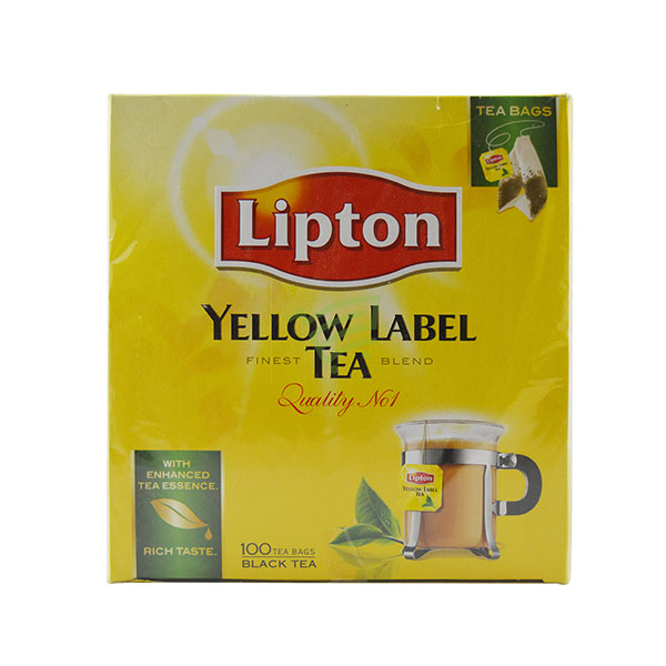 Indian grocery online - Lipton Yellow Label Tea 100 Bags - Cartly